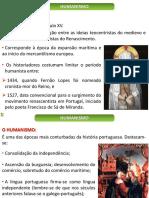 Literatura - Aula 06 - Humanismo
