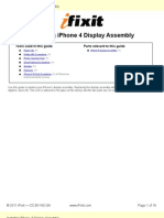 Installing iPhone 4 Display Assembly