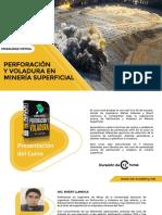 BROCHURE PF Y VOLADURA EN MINERIA SUPERFICIAL