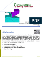 Lecture-08-Theory of Metal Cutting-Theory of Chip Formation