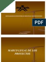 6) Marco Legal de Los Proyectos