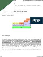 SIGTRAN_SS7_SCTP