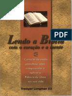 Lendo a Bíblia Com o Coração e a Mente Com Tremper Longman III
