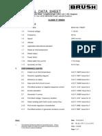 BRUSH BDAX GE_62_170ERT Data Curves