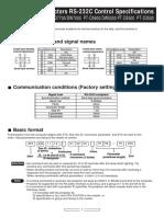 Panasonic display - OM_PT-D232C