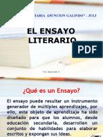EL ENSAYO LITERARIO