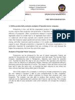 Operations Management- Productivity