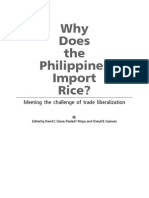 Why doe the Philippines Import Rice