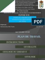 Etude du gisement de kaolin d'el milia ( w. de jijel) FOMBA PPT.pptx