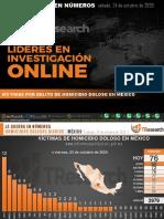 La Guerra En Números TResearch HOMICIDIOS MX