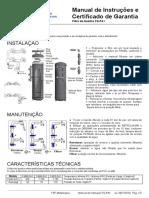 Manual de Instrução FQ-PA1
