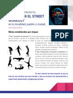 Folleto proyecto DEPORTES URBANOS
