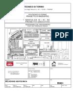 RPA - Relazione di calcolo in fondazione edificio