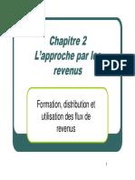 Chapitre 2 section 1 (Prés Gale) et 2 (SNF) CR
