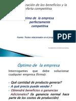 Diapositivas Empresa Perfectamente Competitiva