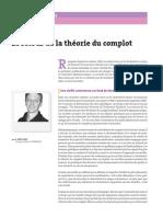 LE RETOUR DE LA THEORIE DU COMPLOT .pdf