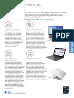 Yoga Slim 7i Pro-14_datasheet_EN