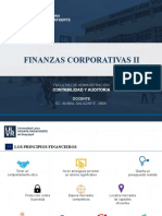 FINANZAS CORPORATIVAS II - CAPITULO 1
