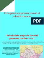 Etnogenera romaneasca