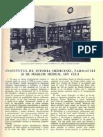 Institut Istoria Medicinei Farmaciei Cluj
