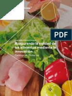 asegurando la calidad de los alimentos mediante la innovacion