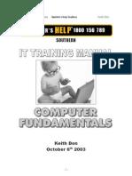 Computer Fundamentals Manual