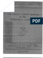 The United States Marines in the Marshalls Campaign