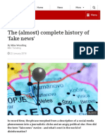 The (Almost) Complete History of 'Fake News' - BBC
