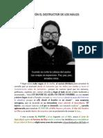 DESTRUCTOR DE LOS MALOS