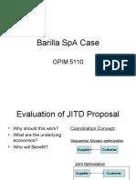 Barilla SpA Case