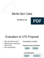 barilla spa case supply chain strategic management barilla spa case