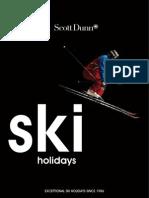 Scott Dunn Ski Brochure 2010/2011