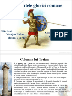 monumentele gloriei romane