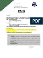 EMD Technique de communication 2020