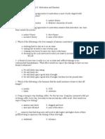 Unit 8 Practice Questions