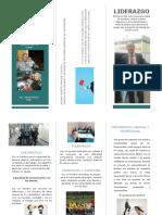 Actividad 3 folleto liderazgo Wilmar Marquez