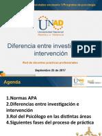 3 Diferencia investigacion- intervencion