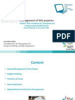 36. Management of KA2 Projects2019-2021