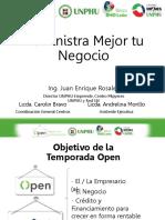 Charla Administración del Negocio __Temporada Open de Negocios PYMES