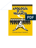 APOLOGÍA DE LA VAGANCIA PDF Aldana