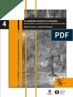 BISQUERT y LVOVICH - La cambiante memoria de la dictadura - Introducción