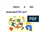 Jugamos a las matemáTICas Unidad Didáctica