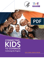 Children's Health Insurance Program Reauthorization Act (CHIPRA) 2010 Annual Report