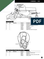 John Deere Combine belts - 3300