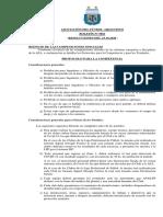 AFA Boletin. Competiciones y traslados