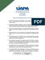 Lista de problemas anualidades (1)