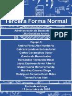 3ra Forma Normal BD