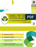Tanques para Gas LP instalados en azoteas y estructuras elevadas la experiencia mexicana_Ramiro Posadas