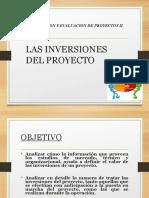 TEMA 2 INVERSIONES DEL PROYECTO