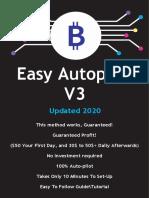 Autopilot Money Method (v3) Bitcoin Version!!!